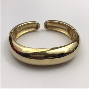 Vintage Simple Gold Bangle Bracelet